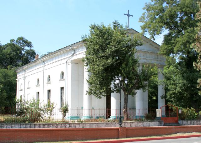 Католический храм в Керчи