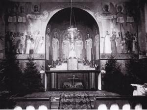 Алтарная роспись церкви св. Гиацинта в Выборге
