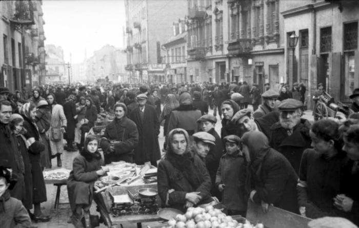 Polen, Ghetto Warschau, Markt