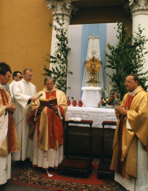 Евхаристическая процессия. 1998 г.