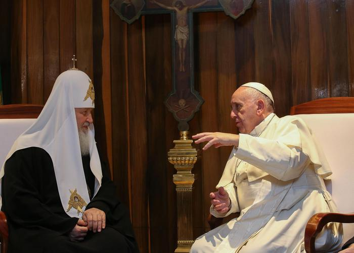 Pope Francis and the Patriarch Kirill