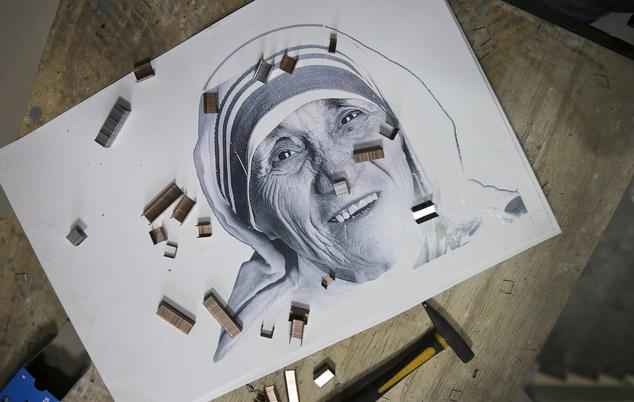 Kosovo Mother Teresa Mosaic